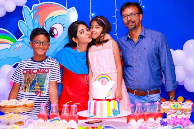 Madiha Turns Eight : Birthday